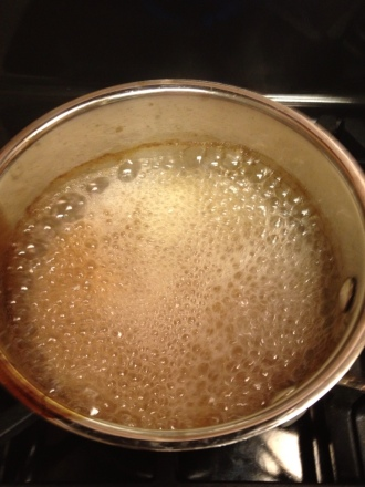 It was almost too small to boil on the stovetop.